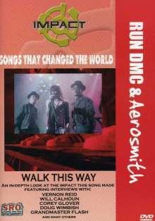 Run Dmc / Aerosmith: Walk This Way, DVD