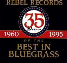 35th Years Of The Best In Bluegrass, 4 CDs