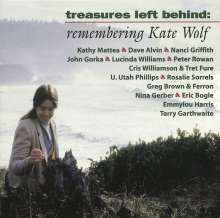 Kate Wolf: Treasures Left Behind - Tribute To Kate Wolf, CD