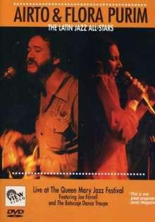 Airto Moreira & Flora Purim: Latin Jazz Allstars (Live), DVD