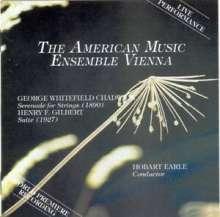 George Chadwick (1854-1931): Serenade für Streicher, CD