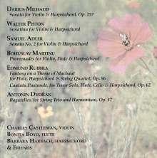 Darius Milhaud (1892-1974): Sonate für Violine & Cembalo op. 157, CD