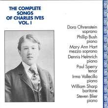 Charles Ives (1874-1954): Sämtliche Lieder Vol.1, CD