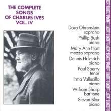 Charles Ives (1874-1954): Sämtliche Lieder Vol.4, CD