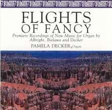 William Albright (1944-1998): Flights of Fancy - Ballett f.Orgel, CD