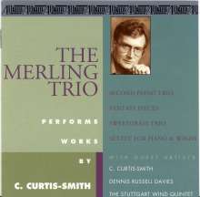 Curtis O.B. Curtis-Smith (geb. 1941): Klaviertrios, CD