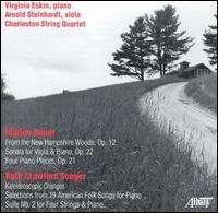 Marion Bauer (1882-1955): Sonate für Viola & Klavier op.22, CD