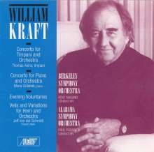 William Kraft (geb. 1923): Klavierkonzert, CD
