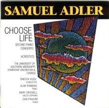 Samuel Adler (geb. 1928): Klavierkonzert Nr.2, CD