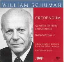 William Schuman (1910-1992): Symphonie Nr.4, Super Audio CD