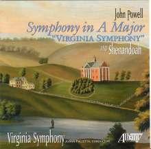 "John Powell (Pianist) (1882-1963): Symphonie A-Dur ""Virginia Symphony"", CD"