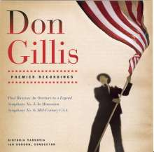 Don Gillis (1912-1978): Symphonien Nr.5 & 6, CD