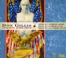 Don Gillis (1912-1978): Symphonien Nr.1,2,5, Super Audio CD