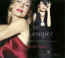 Ute Lemper - Paris Day, Berlin Nights, CD
