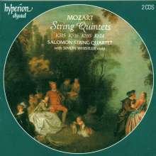 Wolfgang Amadeus Mozart (1756-1791): Streichquintette Nr.3-6, 2 CDs