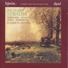 Richard Strauss (1864-1949): Werke für Bläser, 2 CDs