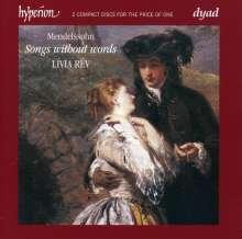 Felix Mendelssohn Bartholdy (1809-1847): Lieder ohne Worte (Ges.-Aufn.), 2 CDs