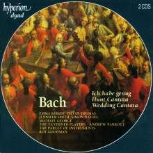 Johann Sebastian Bach (1685-1750): Kantaten BWV 82,202,208, 2 CDs