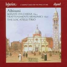 Tomaso Albinoni (1671-1751): Sonate da chiesa op.4 Nr.1-6, 2 CDs