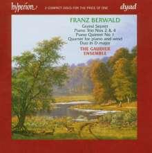 Franz Berwald (1796-1868): Klavierquintett Nr.1 c-moll, 2 CDs