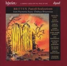 Benjamin Britten (1913-1976): Purcell-Realizations, 2 CDs