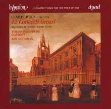 Charles Avison (1709-1770): Concerti nach D.Scarlatti Nr.1-12, 2 CDs