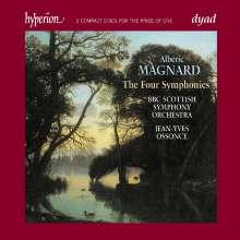 Alberic Magnard (1865-1914): Symphonien Nr.1-4, 2 CDs