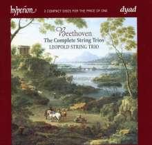 Ludwig van Beethoven (1770-1827): Streichtrios Nr.1,3-5 (op.3;op.9 Nr.1-3), 2 CDs