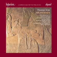 Thomas Arne (1710-1778): Artaxerxes, 2 CDs