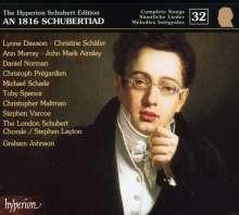 Franz Schubert (1797-1828): Sämtliche Lieder 32, CD
