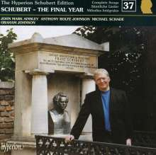 Franz Schubert (1797-1828): Sämtliche Lieder 37, CD