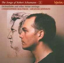 Robert Schumann (1810-1856): Sämtliche Lieder Vol.5, CD