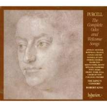 Henry Purcell (1659-1695): Complete Odes & Welcome Songs Vol.1-8, 8 CDs