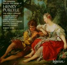 Henry Purcell (1659-1695): Complete Secular Solo Songs, 3 CDs