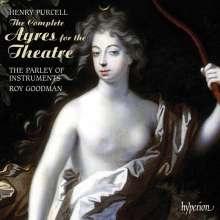 Henry Purcell (1659-1695): Musik für das Theater (Ges.-Aufn.), 3 CDs