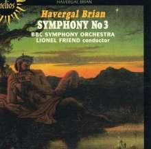 Havergal Brian (1876-1972): Symphonie Nr.3, CD