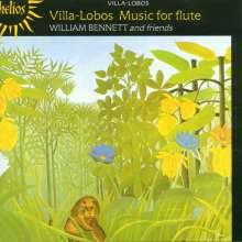 Heitor Villa-Lobos (1887-1959): Musik f.Flöte, CD