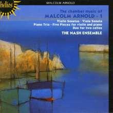 Malcolm Arnold (1921-2006): Kammermusik Vol.1, CD