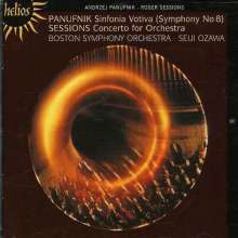 Andrzej Panufnik (1914-1991): Sinfonia Votiva, CD