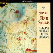 George Enescu (1881-1955): Sonaten f.Violine & Klavier Nr.1-3, CD