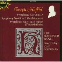 Joseph Haydn (1732-1809): Symphonien Nr.42-44, CD