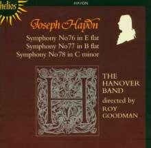 Joseph Haydn (1732-1809): Symphonien Nr.76-78, CD