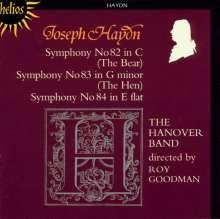Joseph Haydn (1732-1809): Symphonien Nr.82-84, CD