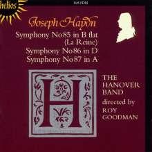 Joseph Haydn (1732-1809): Symphonien Nr.85-87, CD