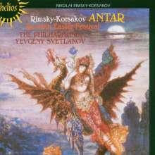 """Nikolai Rimsky-Korssakoff (1844-1908): Symphonie Nr.2 """"Antar"""", CD"""