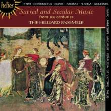 Hilliard Ensemble - Sacred & Secular Music, CD