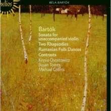 Bela Bartok (1881-1945): Sonate f.Violine solo (1944), CD