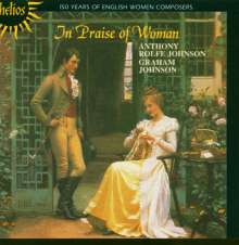 Anthony Rolfe Johnson - In Praise of a Woman, CD