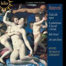 Claudio Monteverdi (1567-1643): Madrigali Libro 8 (Ausz.), CD