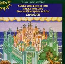 Michael Glinka (1804-1857): Klaviersextett Es-dur, CD